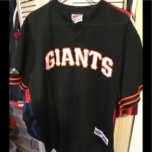 SF Giants workout jersey